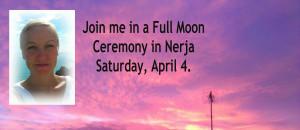 full moon ceremony nerja