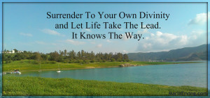 let life take the lead