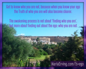 about ego consciousness