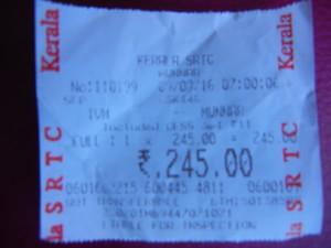 Bus Trivandrum Munnar