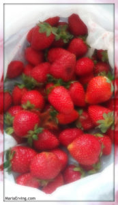 It's strawberry season in Spain right now :)