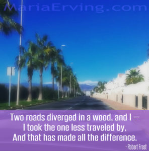 road less traveled quote