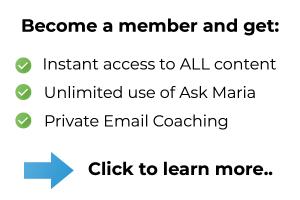 Maria Erving membership site