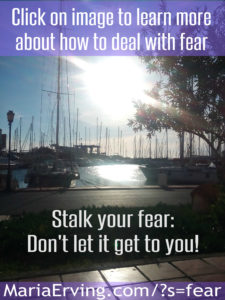 dont let fear dictate your life. Learn how the ego operates and you will be free from it. For good.