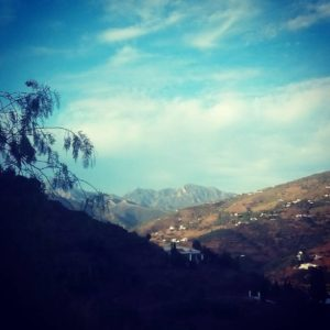 Andalusian mountains