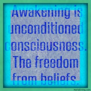 unconditioned consciousness