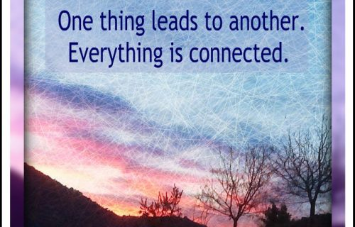 everything is connected quote