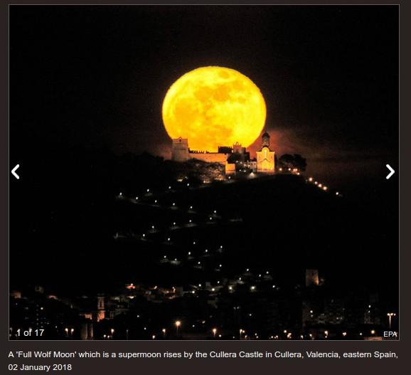 full moon lunar eclipse 2018