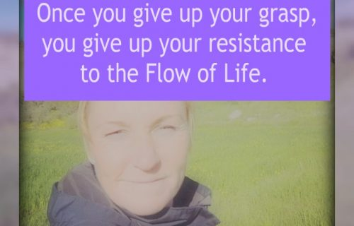 give up resistance