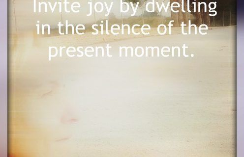 joy in the present moment