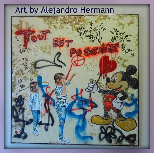 """Alejandro Hermann """"tout est possible"""""""