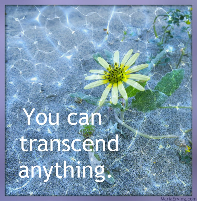 You can transcend anything