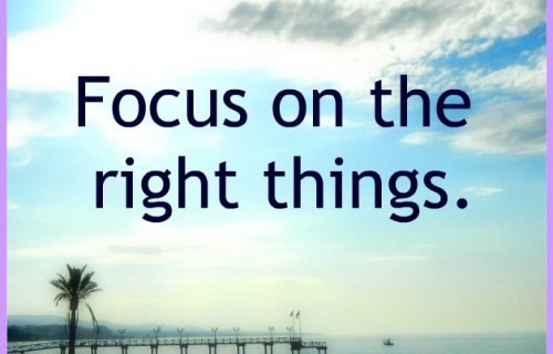 Flow happens when you focus on the right things