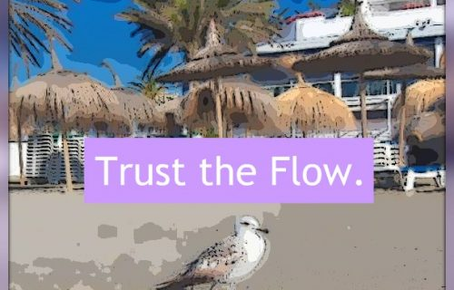 Trust the flow and process of the universe