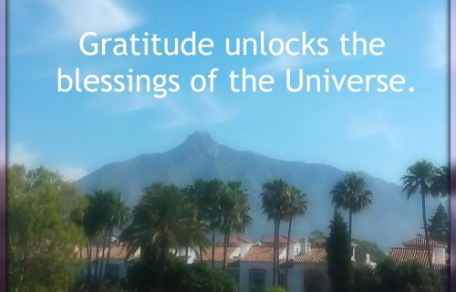 Gratitude unlocks the blessings of the Universe
