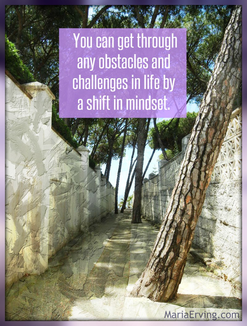 Obstacles in life