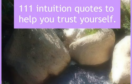 111 intuition quotes