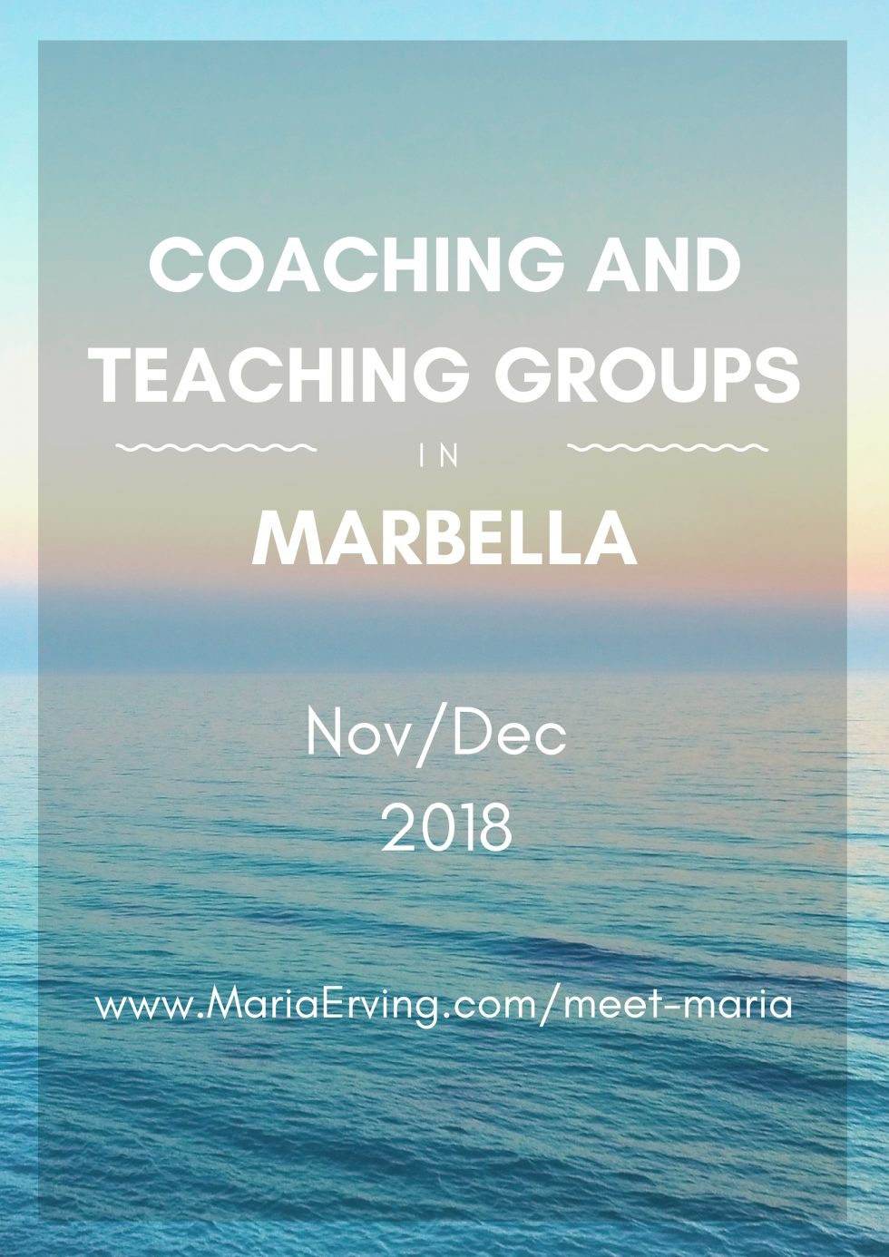 Personal and spiritual growth in Costa del Sol, Marbella, Spain