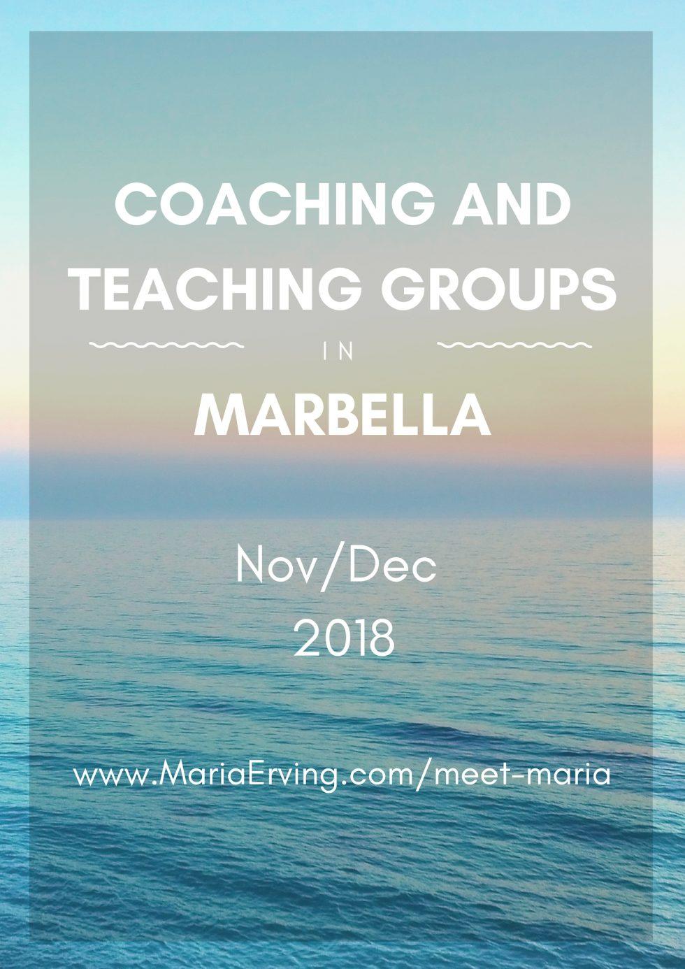 Personal and spiritual growth in Costa del Sol, Marbella, Spain