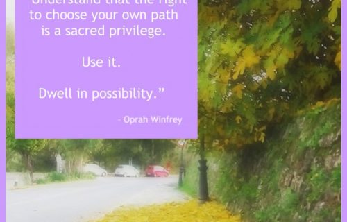 Oprah Winfrey possibility quote