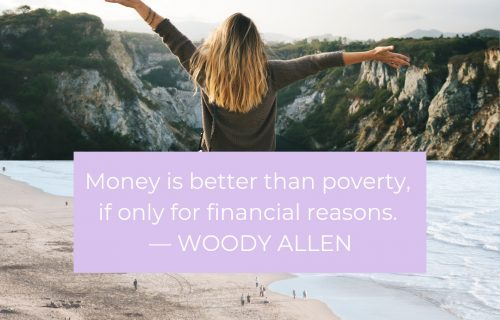 Money is a terrible master but an excellent servant. P.T. Barnum, Woody Allen quote money