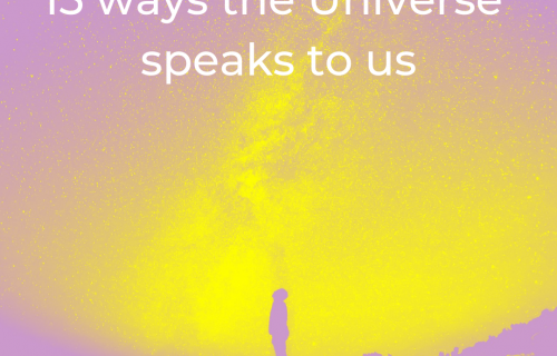 15 ways the Universe speaks to us