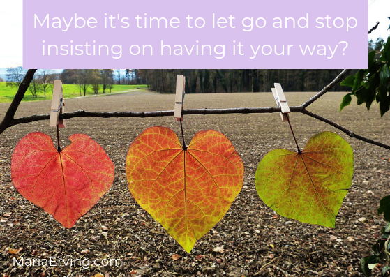 Steve Maraboli quote about letting go
