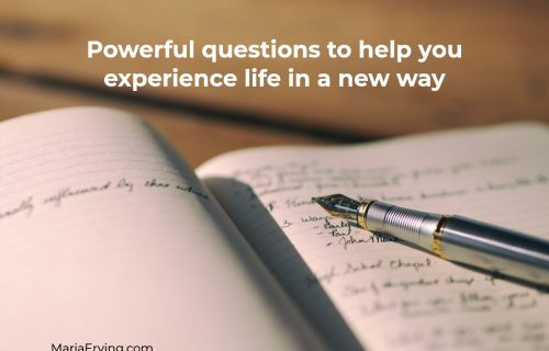 Powerful questions to help you overcome feelings of lack and not being enough