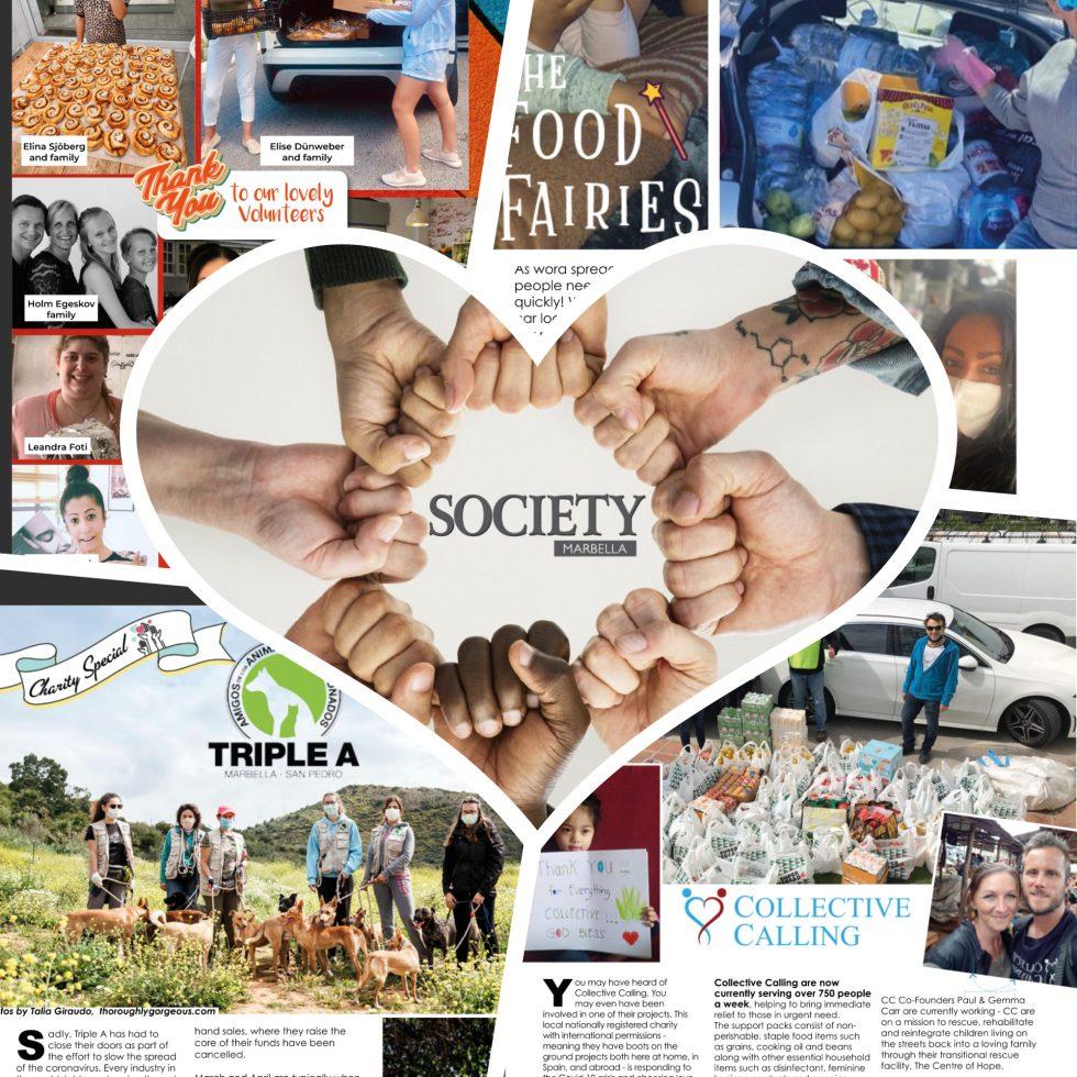 Society Marbella Magazine – Charity Issue, May 2020