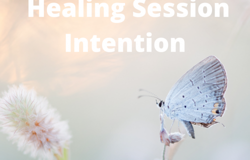 Heal Yourself and Your Life, power of intention