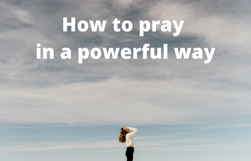 Powerful prayers by Maria Erving