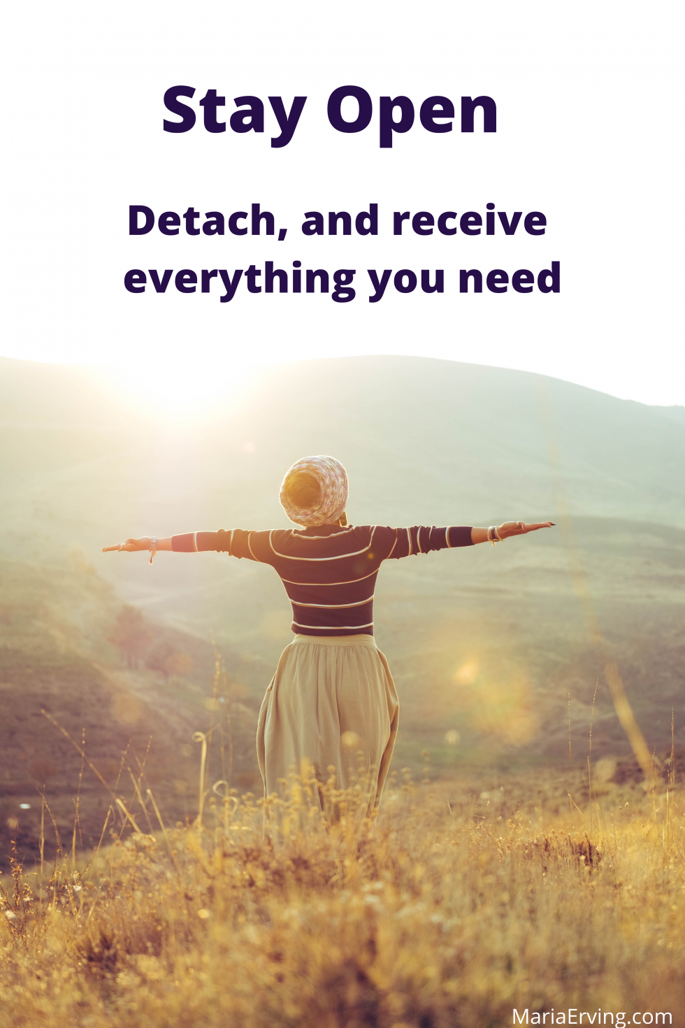 Detach, and receive everything you need, law of attraction secret