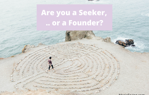 Are you a spiritual seeker or a founder?